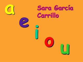 Sara García Carrillo