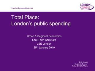 Total Place: London's public spending