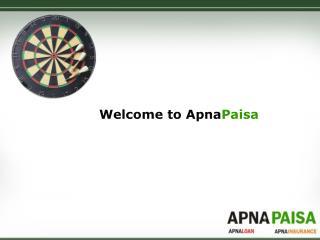 Welcome to Apna Paisa