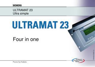 ULTRAMAT 23 Ultra simple