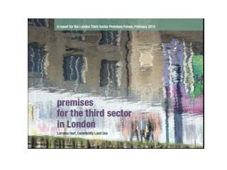 Premises for the Third Sector in London