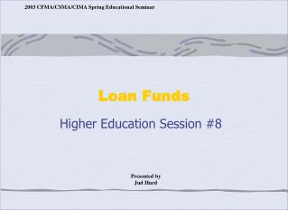 Loan Funds