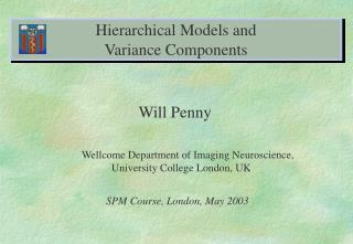 Hierarchical Models and  Variance Components