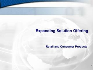 Expanding Solution Offering
