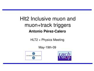 Hlt2 Inclusive muon and muon+track triggers
