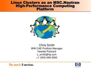 Linux Clusters as an MSC.Nastran High-Performance Computing Platform