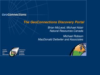 The GeoConnections Discovery Portal