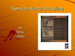 Semiconductor Modelling