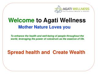 Welcome  to Agati Wellness