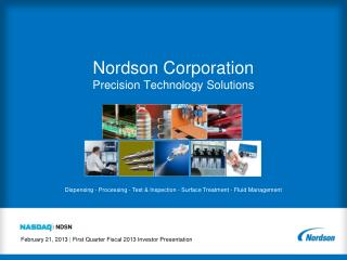 Nordson Corporation Precision Technology Solutions