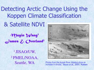 Detecting Arctic Change Using the Koppen Climate Classification