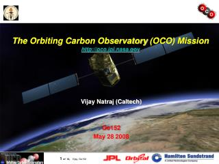 The Orbiting Carbon Observatory (OCO) Mission oco.jpl.nasa