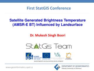 Satellite Generated Brightness Temperature (AMSR-E BT) Influenced by Landsurface