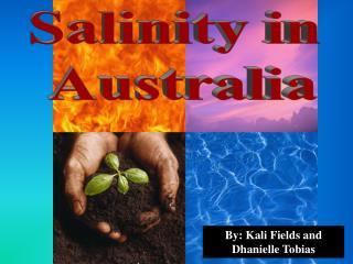Salinity in  Australia