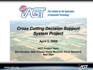 Cross Cutting Decision Support System Project