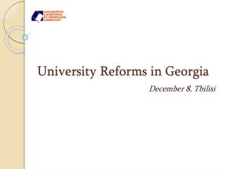 University Reforms in Georgia