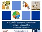 Valuaci n y reconocimiento de activos intangibles Un enfoque estrat gico