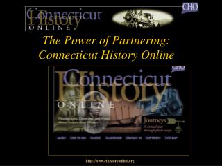 The Power of Partnering: Connecticut History Online