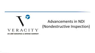 Advancements in NDI (Nondestructive Inspection)