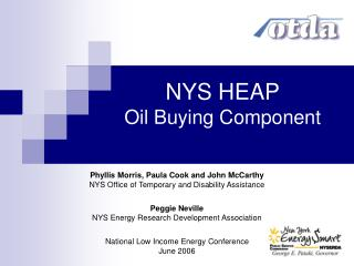 NYS HEAP Oil Buying Component