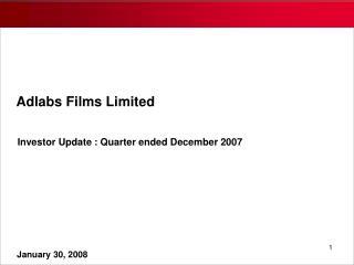 Adlabs Films Limited