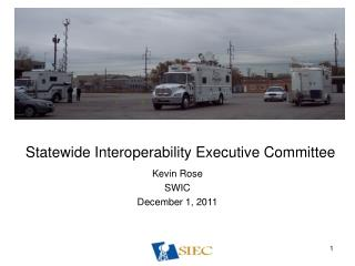 Statewide Interoperability Executive Committee