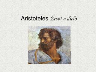 Aristoteles  Život a dielo