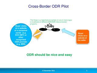 Cross-Border ODR Pilot