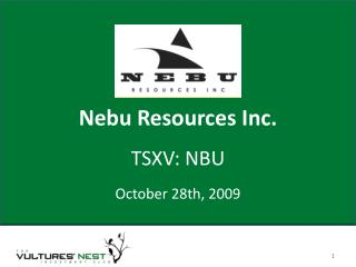 Nebu Resources Inc.
