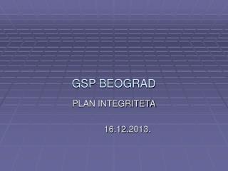 GSP BEOGRAD