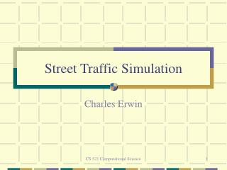 Street Traffic Simulation