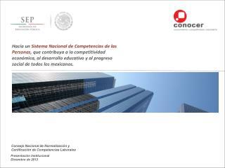 Presentación Institucional Diciembre de 2013