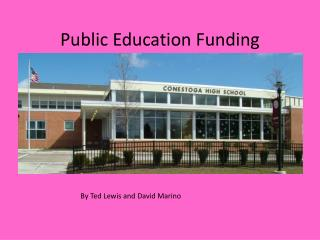 Public Education Funding