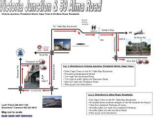 Victoria Junction & 59 Alma Road
