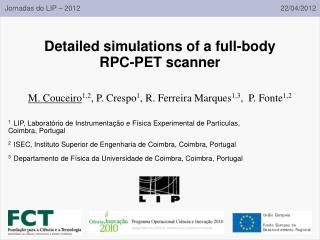 Detailed simulations of a full-body RPC-PET scanner
