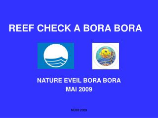 REEF CHECK A BORA BORA