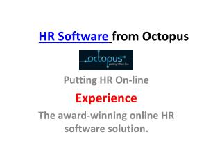 Online HR software