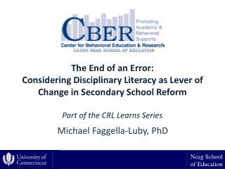 Michael Faggella-Luby, PhD