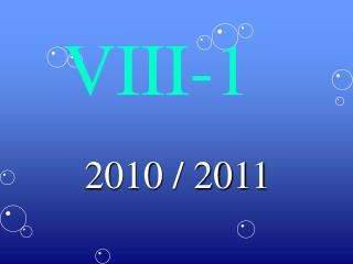 VIII-1