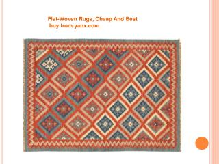 Flat-Woven Rugs,