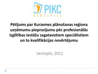 Ventspils, 2011