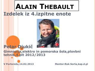 Alain  Thebault