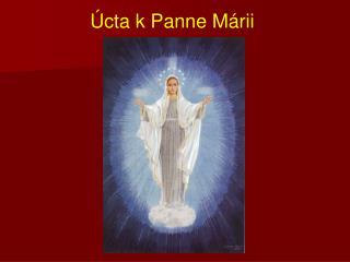 Úcta k Panne Márii