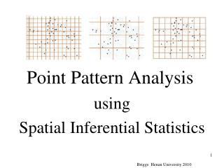 Point Pattern Analysis
