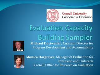 Evaluation Capacity Building Sampler