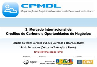 3: Mercado Internacional de Créditos de Carbono e Oportunidades de Negócios