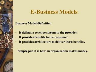 E-Business Models