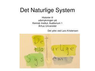 Det Naturlige System