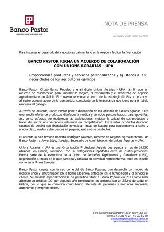Ángel Ron y el Pastor firman un acuerdo de colaboración
