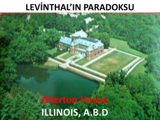 Allerton House ILLINOIS ,  A.B.D